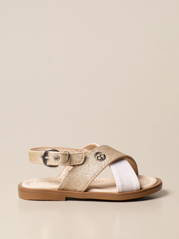 Shoes Florens: Shoes kids Florens gold 1