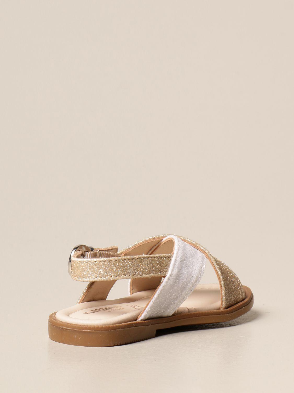 Shoes Florens: Shoes kids Florens gold 3