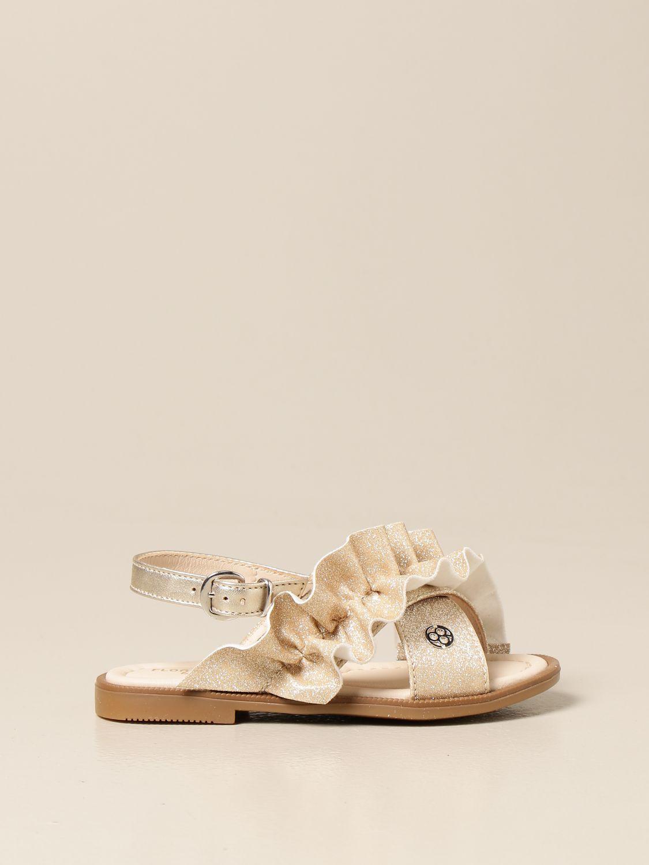 Schuhe Florens: Schuhe kinder Florens gold 1