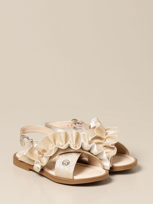 Schuhe Florens: Schuhe kinder Florens gold 2