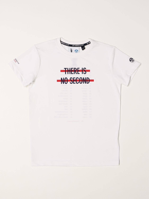 T恤 North Sails Prada: T恤 儿童 North Sails Prada 白色 1
