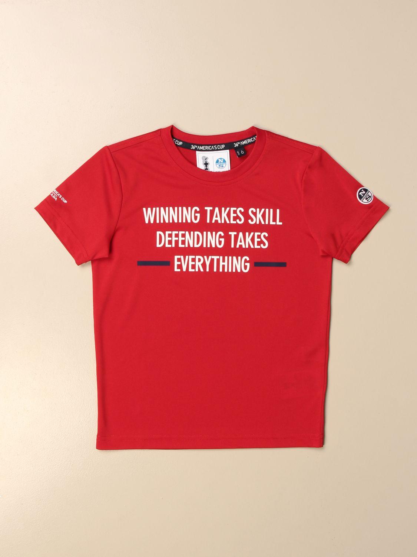 T恤 North Sails Prada: T恤 儿童 North Sails Prada 红色 1