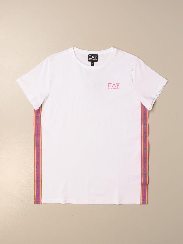 Camisetas Emporio Armani: Camisetas niños Emporio Armani blanco 1
