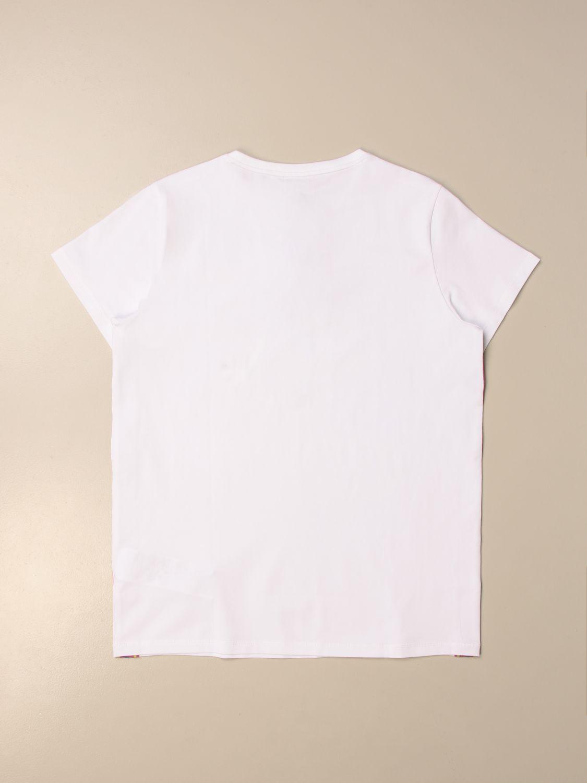 Camisetas Emporio Armani: Camisetas niños Emporio Armani blanco 2