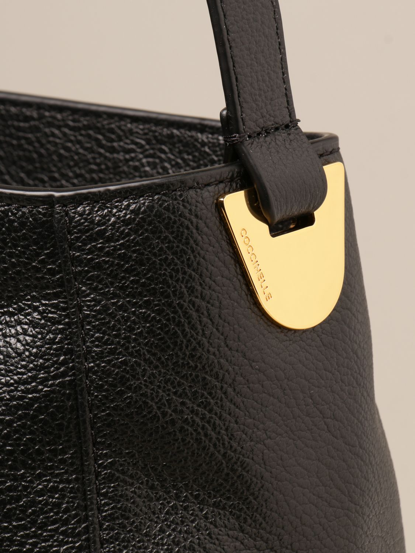 Schultertasche Coccinelle: Schultertasche damen Coccinelle schwarz 3