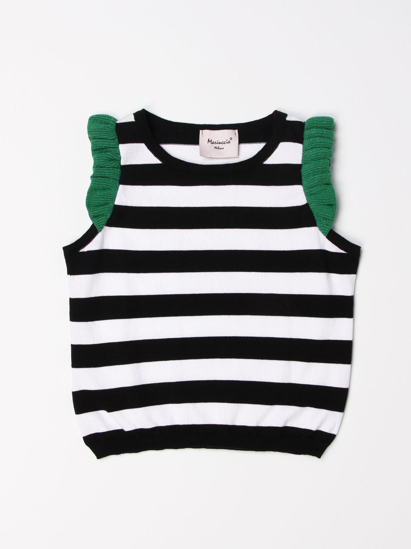 Top Mariuccia Milano: Sweater kids Mariuccia Milano black 1