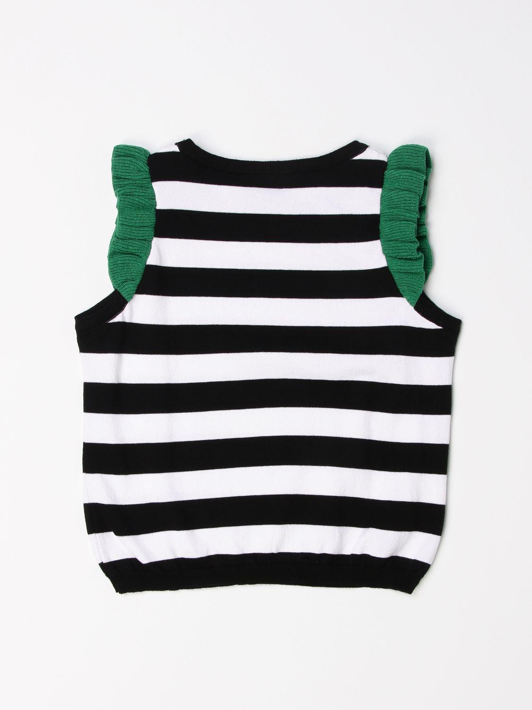 Top Mariuccia Milano: Sweater kids Mariuccia Milano black 2