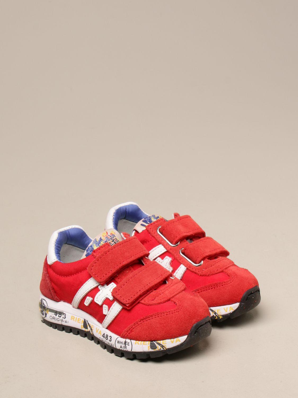 Обувь Premiata: Обувь Детское Premiata красный 2