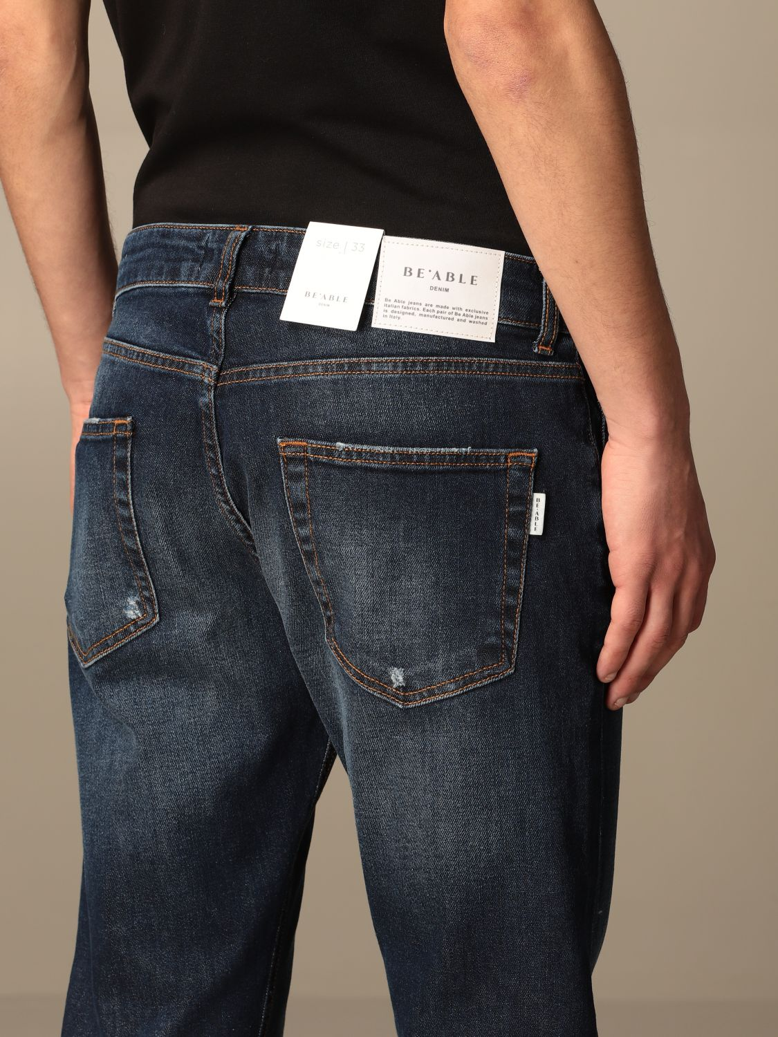Jeans Be Able: Jeans homme Be Able laque 4