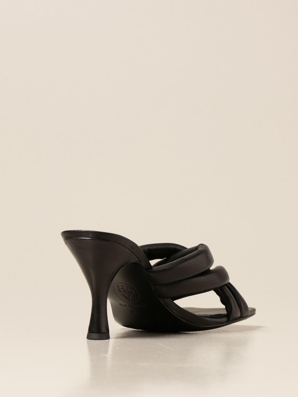 Sandalen mit Absatz Ash: Keilabsatz schuhe damen Ash schwarz 3