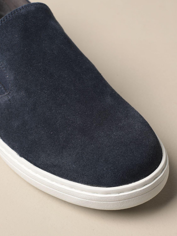 Mocassini Church's: Sneakers Church's in camoscio blue 4