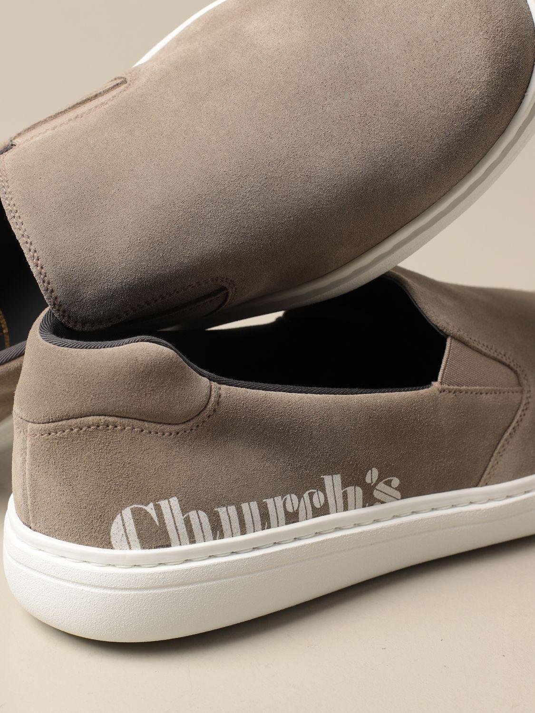 Mocassini Church's: Sneakers Church's in camoscio beige 4