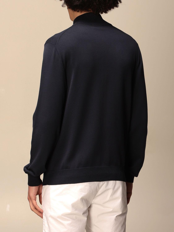 针织开衫 Malo: 毛衣 男士 Malo 蓝色 2