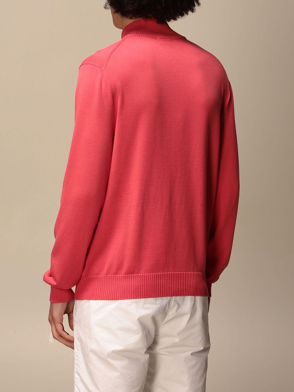 针织开衫 Malo: 毛衣 男士 Malo 樱桃色 2