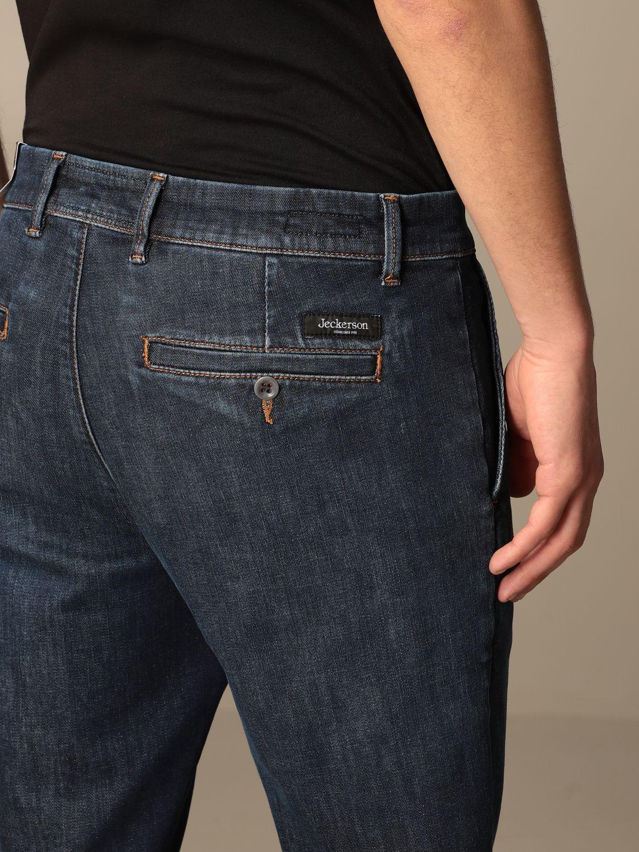 Jeans Jeckerson: Jeckerson 5-pocket jeans in denim blue 4