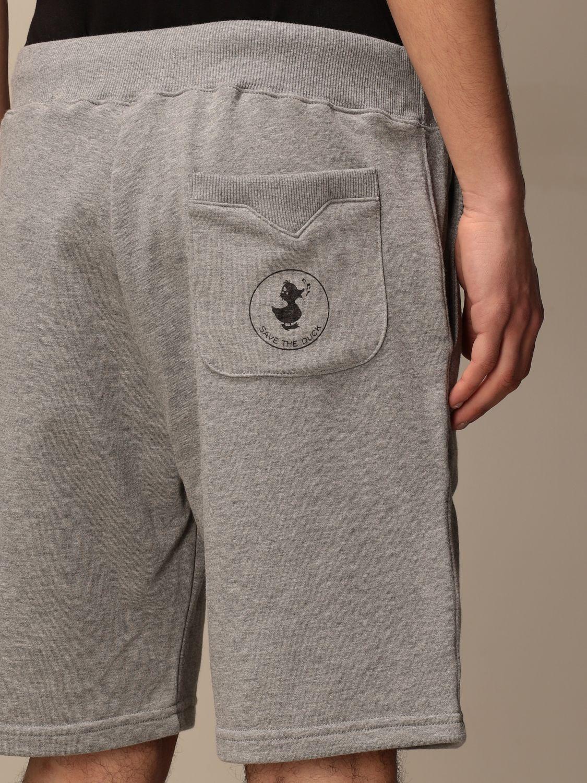 Pantalones cortos Save The Duck: Pantalones cortos hombre Save The Duck gris 4