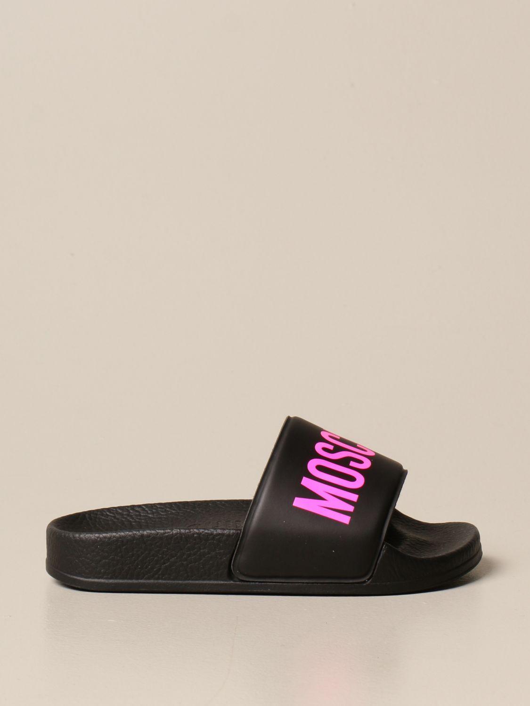 Zapatos Moschino Baby: Zapatos niños Moschino Baby negro 1