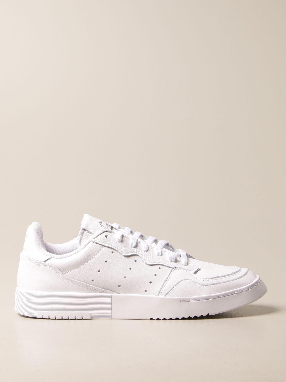 Sneakers Adidas Originals: Supercourt Adidas Originals sneakers in leather white 1
