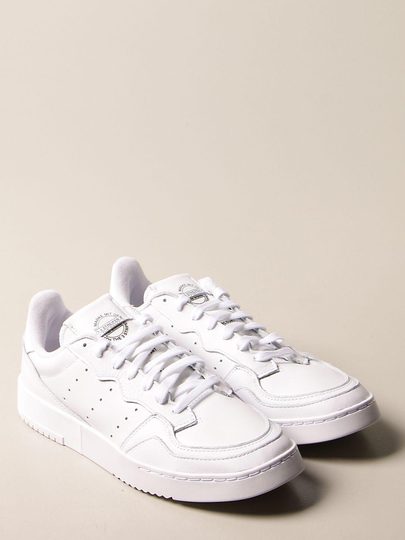 Sneakers Adidas Originals: Supercourt Adidas Originals sneakers in leather white 2