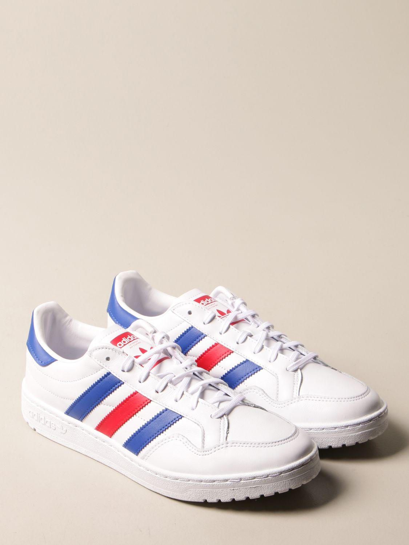 Sneakers Adidas Originals: Sneakers Team Court Adidas Originals in pelle bianco 2