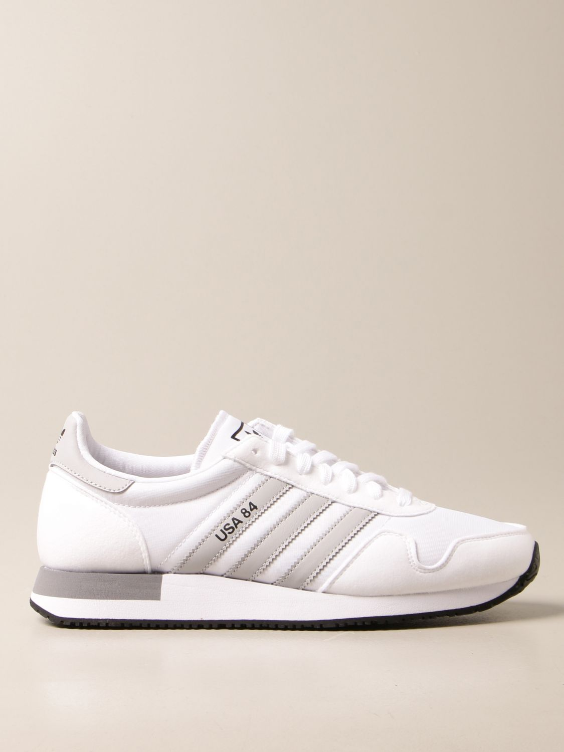 Sneakers Adidas Originals: Sneakers Usa 84 Adidas Originals in nylon and synthetic suede white 1
