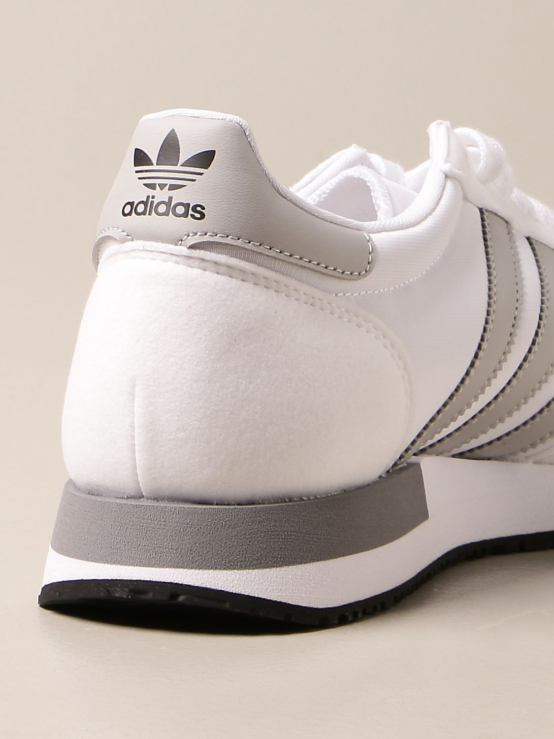 Sneakers Adidas Originals: Sneakers Usa 84 Adidas Originals in nylon and synthetic suede white 3