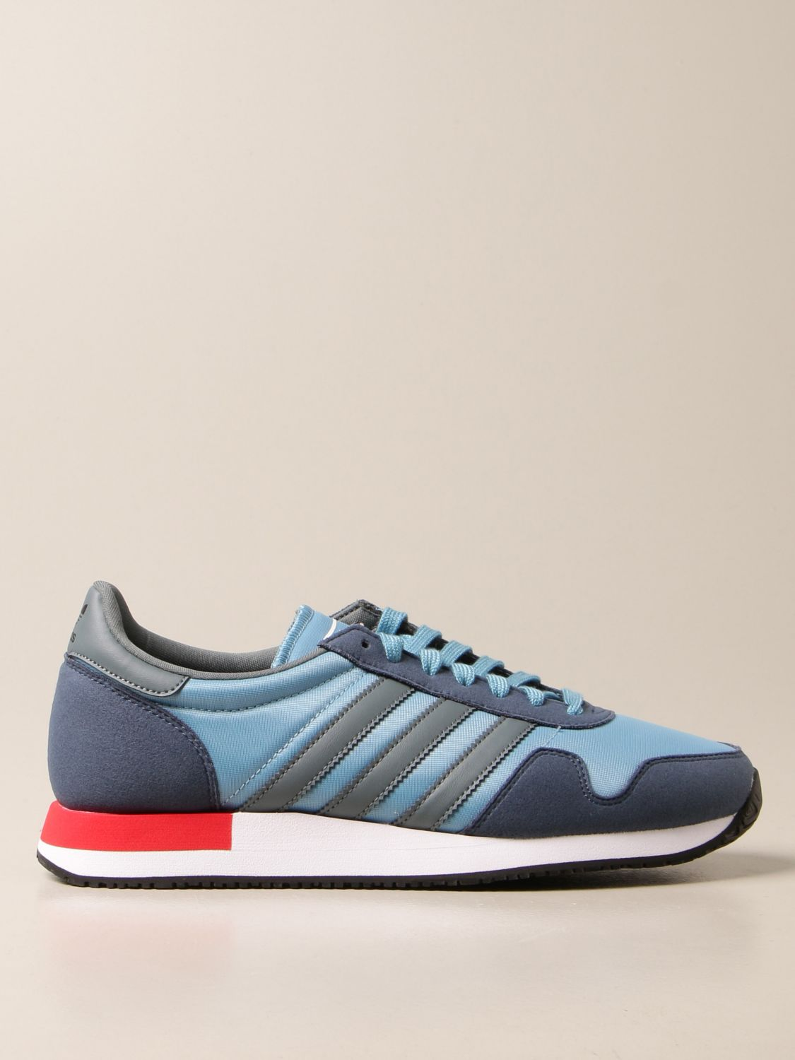 Trainers Adidas Originals: Sneakers Usa 84 Adidas Originals in nylon and synthetic suede blue 1