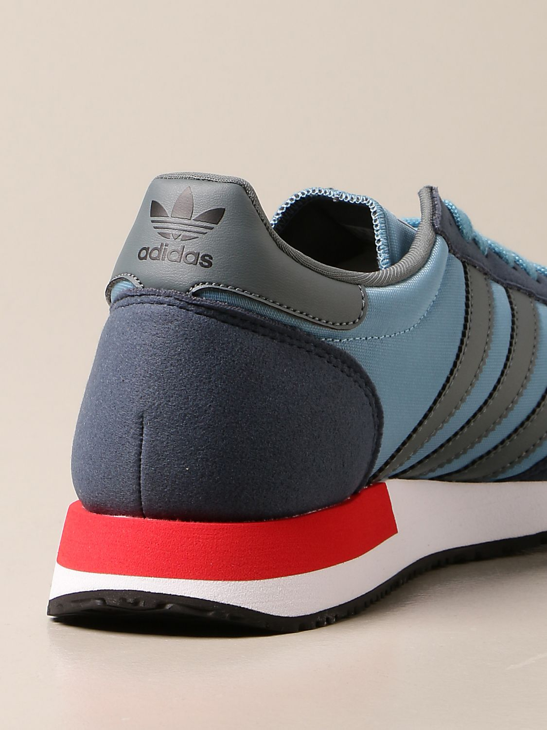 Trainers Adidas Originals: Sneakers Usa 84 Adidas Originals in nylon and synthetic suede blue 3