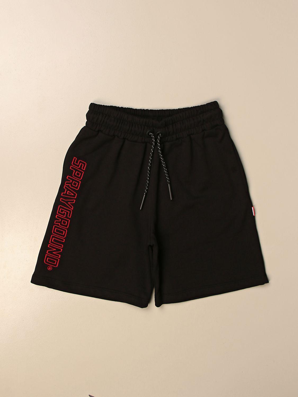 Shorts Sprayground: Sprayground jogging shorts with logo black 1