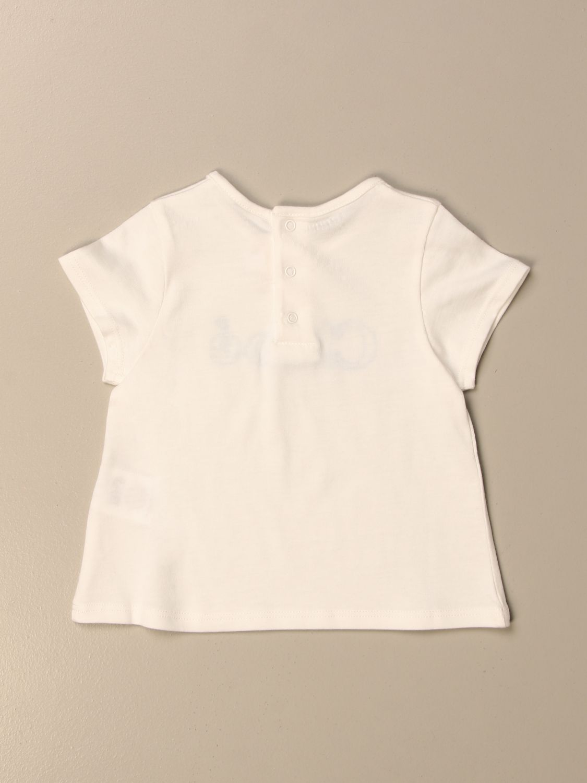 Camiseta Chloé: Camiseta niños ChloÉ blanco 2