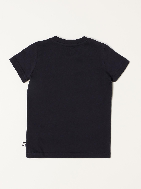 T-shirt K-Way: T-shirt K-way con logo blue 2