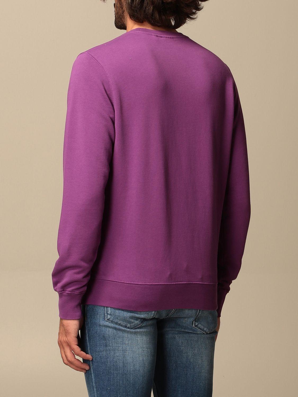 Sweatshirt Aspesi: Aspesi basic crewneck sweatshirt violet 2