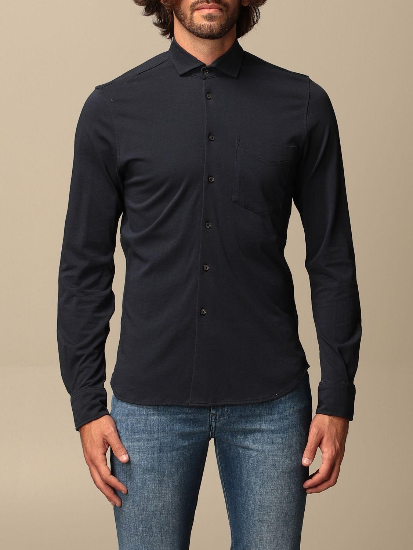 Shirt Aspesi: Shirt men Aspesi blue 1