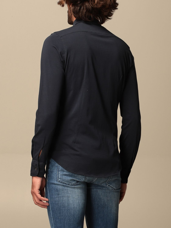Shirt Aspesi: Shirt men Aspesi blue 2