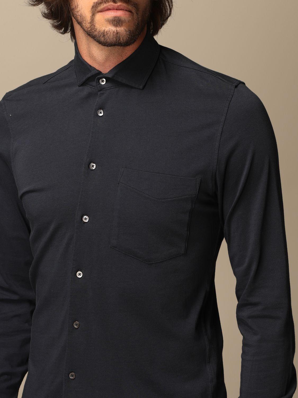 Shirt Aspesi: Shirt men Aspesi blue 3