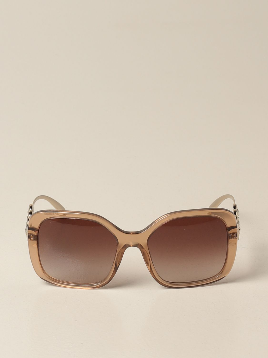 Glasses Versace: Versace sunglasses in acetate with metal temples salmon 2