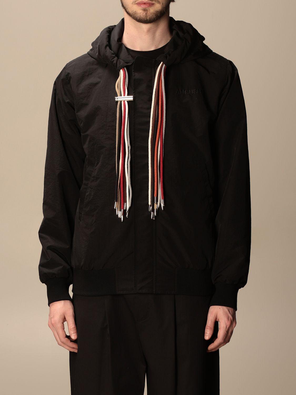 Jacket Ambush: Ambush nylon jacket with hood black 1