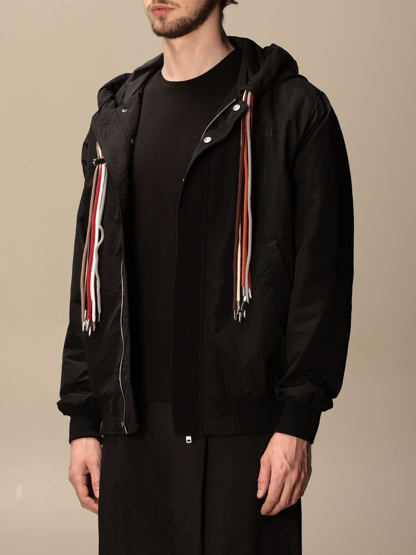 Jacket Ambush: Ambush nylon jacket with hood black 4