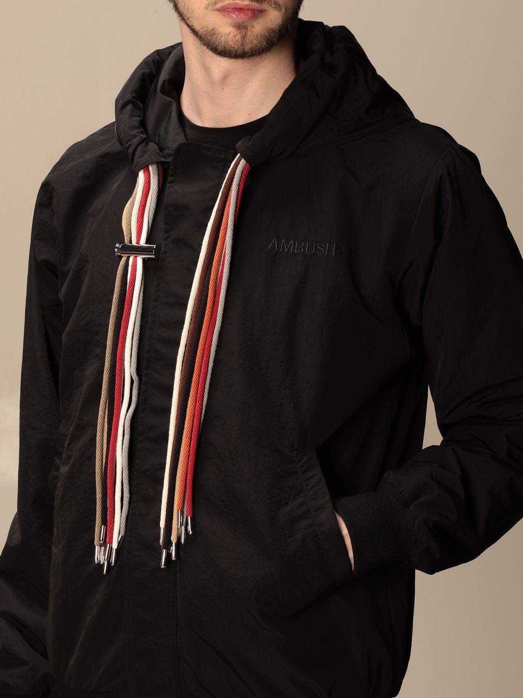 Jacket Ambush: Ambush nylon jacket with hood black 5