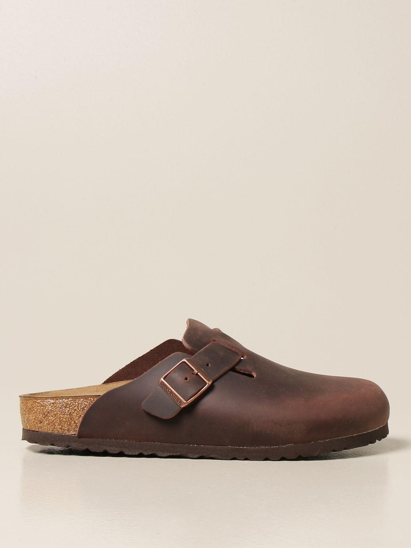 Chaussures Birkenstock: Chaussures homme Birkenstock tabac 1