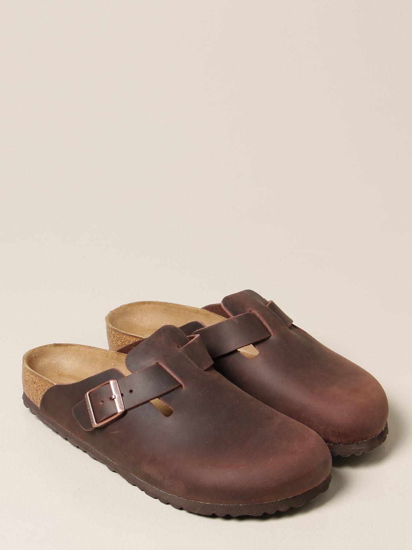Chaussures Birkenstock: Chaussures homme Birkenstock tabac 2