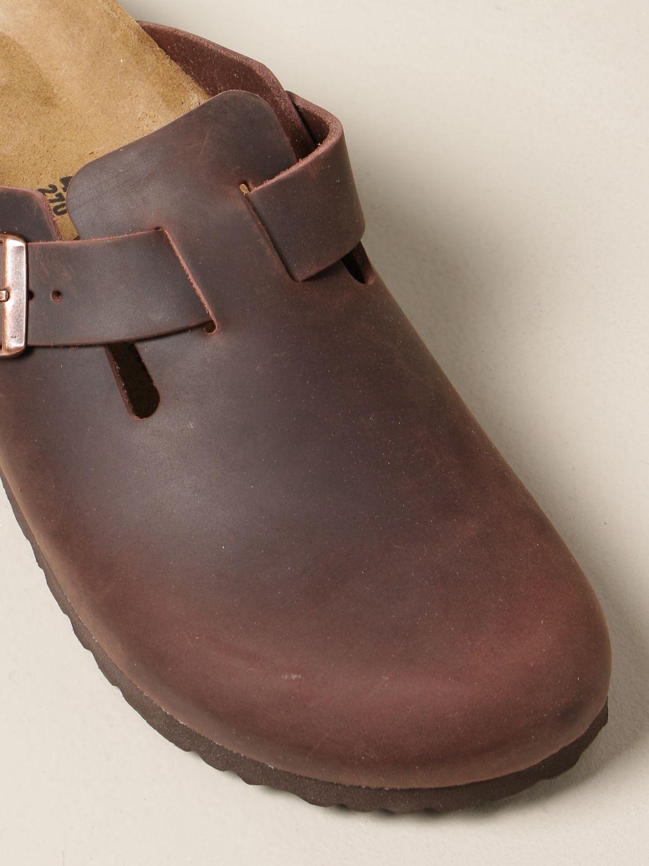 Chaussures Birkenstock: Chaussures homme Birkenstock tabac 4