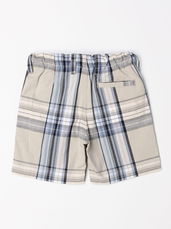 Pantaloncino Il Gufo: Pantaloncino jogging Il Gufo in misto cotone a fantasia beige 2