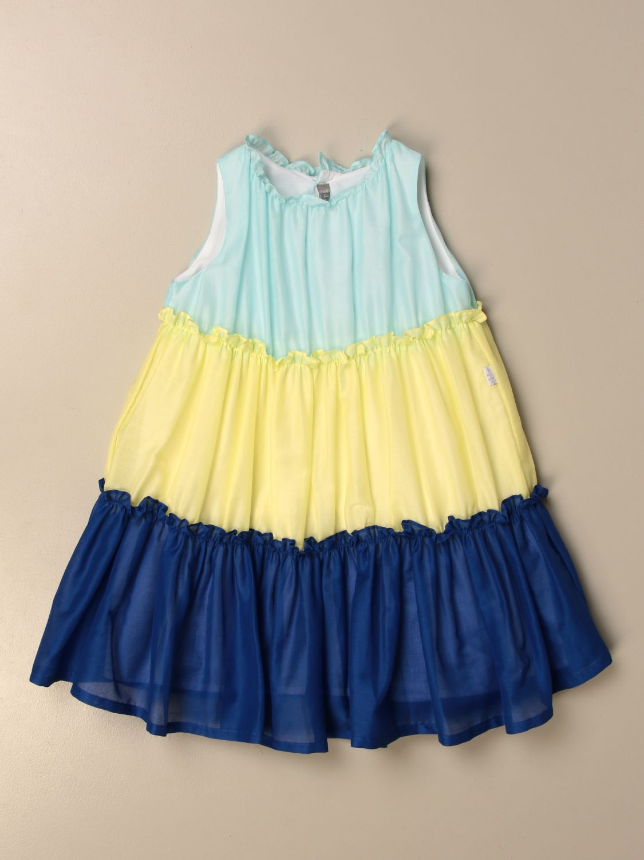 Kleid Il Gufo: Kleid kinder Il Gufo bunt 1
