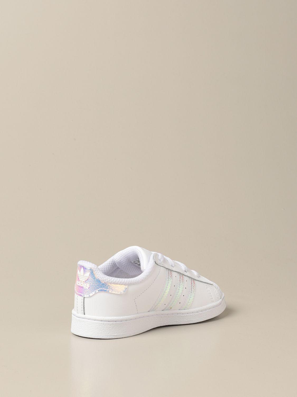 Zapatos Adidas Originals: Zapatos niños Adidas Originals blanco 3