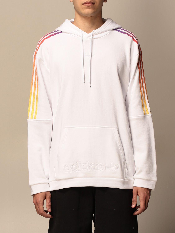 Sweatshirt Adidas Originals: Sweatshirt homme Adidas Originals blanc 1