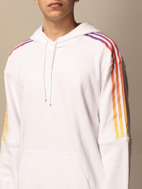 Sweatshirt Adidas Originals: Sweatshirt homme Adidas Originals blanc 3