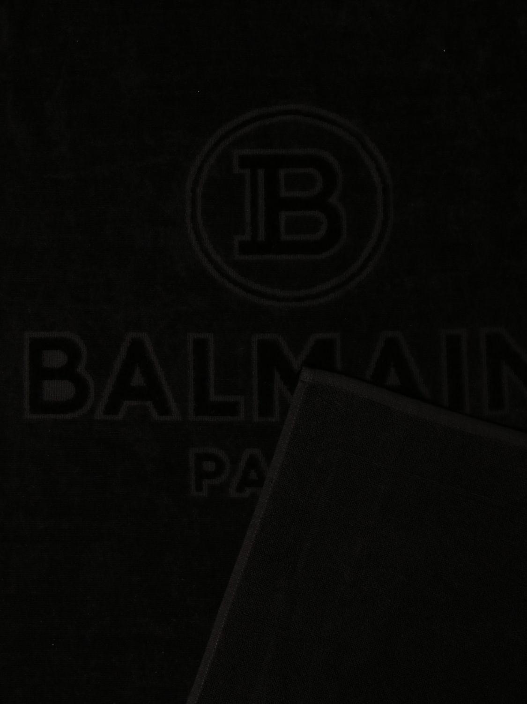 Toalla de baño niño Balmain: Toalla de baño niño niños Balmain negro 2