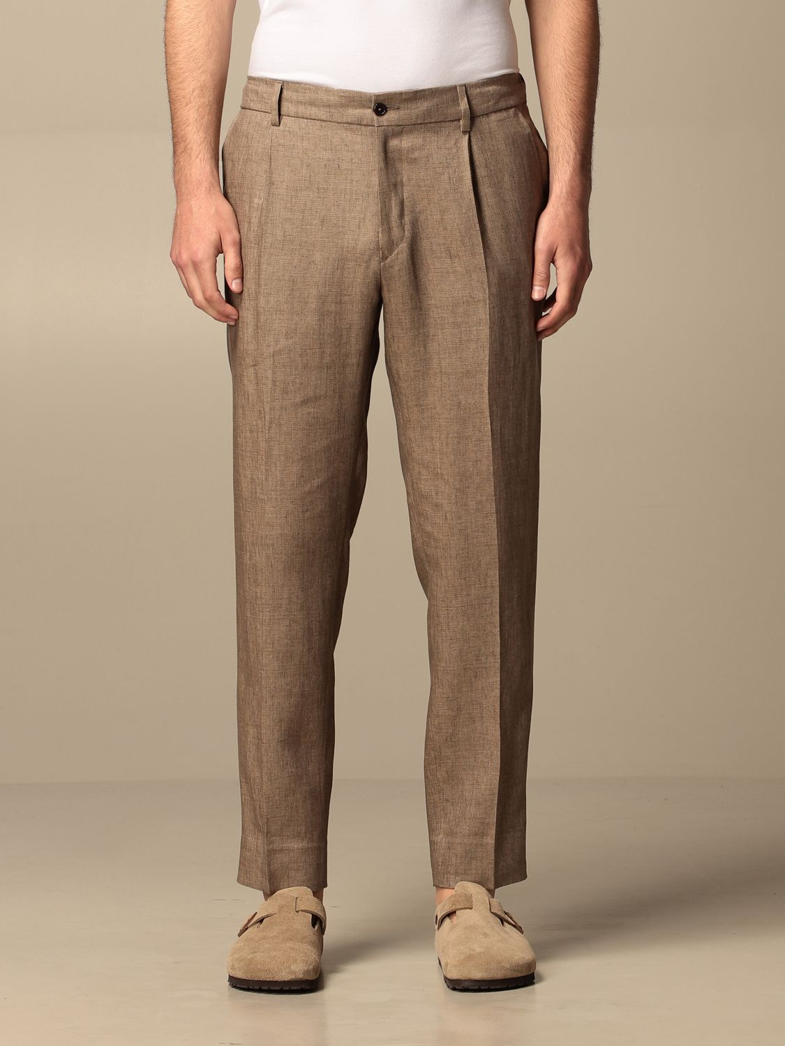 Trousers Be Able: Trousers men Be Able dove grey 1