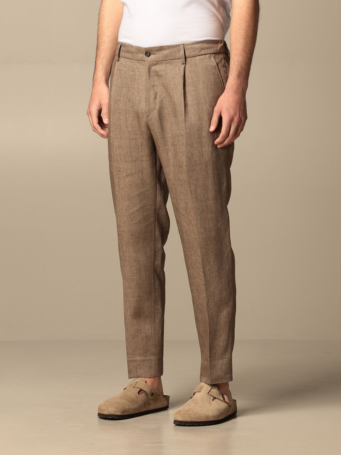 Trousers Be Able: Trousers men Be Able dove grey 3